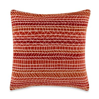 Candela Coral 20-Inch Square Throw Pillow