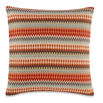 Canyon Sunset 20-Inch x 20-Inch Throw Pillow