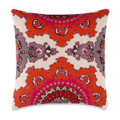 High Jinks 20-Inch x 20-Inch Throw Pillow in Red