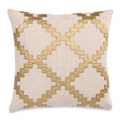 Travis 20-Inch x 20-Inch Throw Pillow in Gold