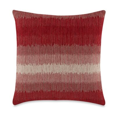 Waimar Red Square Throw Pillow