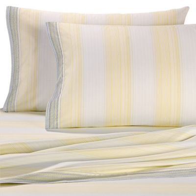 Tommy Bahama® Coastal Stripe Twin Sheet Set in Blue