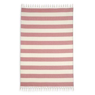 Patara Pestemal Beach Towel in Red