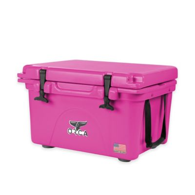 Orca 26 qt. Ice Retention Cooler in Pink