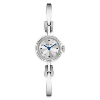 Bulova Classic Ladies' 20mm Bangle Bracelet Watch in Stainless Steel