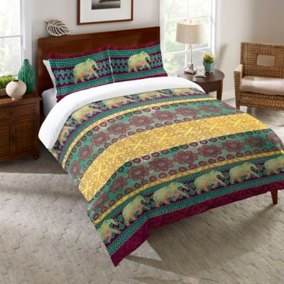 Laural Home® Marrakesh Queen Comforter in Purple