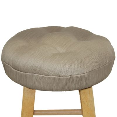 Morocco Barstool Cover in Parchment