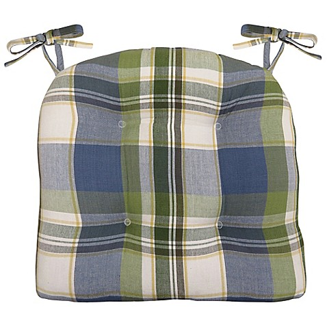 Buy Park B Smith 174 Lafayette Plaid 16 Inch Chair Pad From
