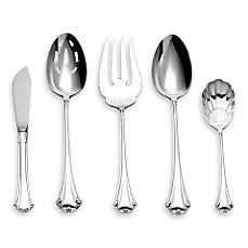 Reed & Barton®  English Chippendale Sterling Silver Flatware 5-Piece Hostess Set