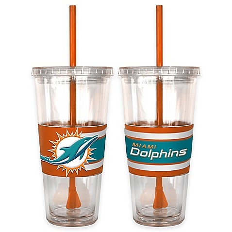 Buy Nfl Miami Dolphins Double Wall Hype 22 Oz Tumbler