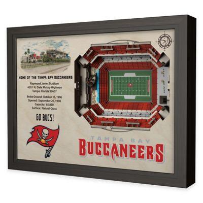 NFL Tampa Bay Buccaneers Stadium Views Wall Art