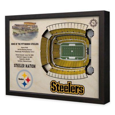NFL Pittsburgh Steelers Stadium Views Wall Art