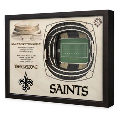 NFL New Orleans Saints Stadium Views Wall Art