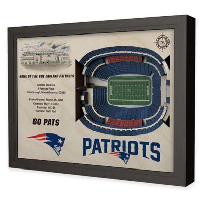 NFL New England Patriots Stadium Views Wall Art