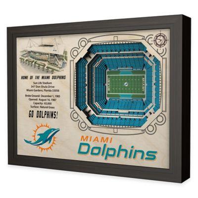 NFL Miami Dolphins Stadium Views Wall Art
