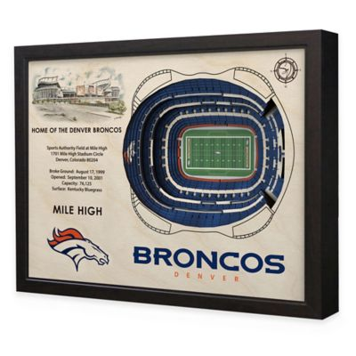 NFL Denver Broncos Stadium Views Wall Art