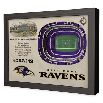 NFL Baltimore Ravens Stadium Views Wall Art