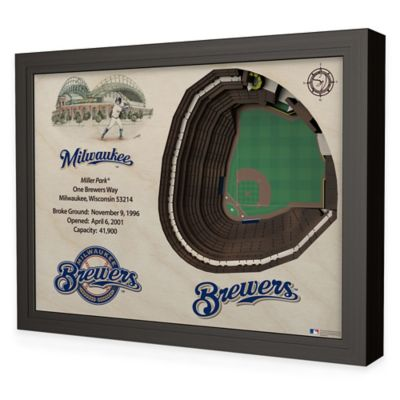 MLB Milwaukee Brewers Stadium Views Wall Art