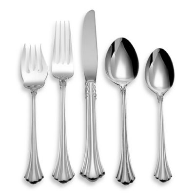 Reed & Barton® 18th Century Sterling Silver 5-Piece Flatware Place Setting