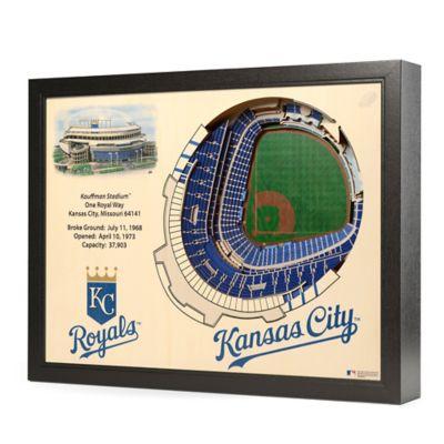 MLB Kansas City Royals Stadium Views Wall Art