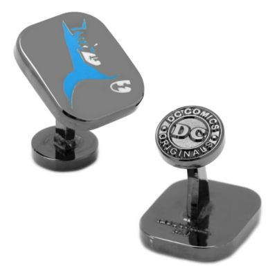 DC Comics™ Black-Plated Batman Cowl Shadow Cufflinks