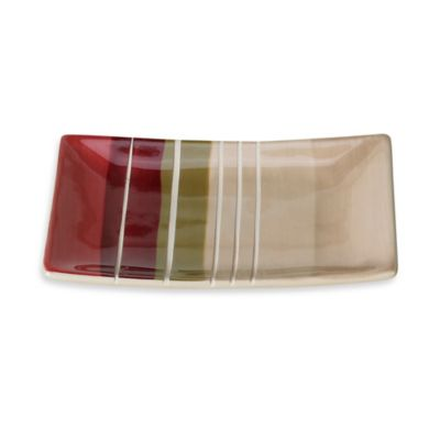 Madison Stripe Soap Dish