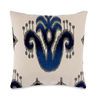 Casseah 22-Inch x 22-Inch Throw Pillow in Indigo