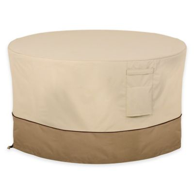 Table Cover Outdoor Snow