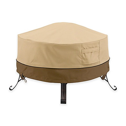 buy classic accessories veranda 36 inch firepit cover from bed bath beyond. Black Bedroom Furniture Sets. Home Design Ideas