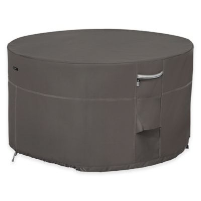 Classic Accessories® Ravenna Outdoor Patio Firepit Table Cover in Taupe