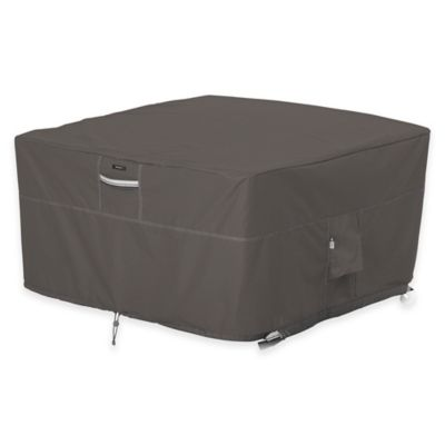 Classic Accessories® Ravenna Outdoor Firepit Table Cover in Taupe