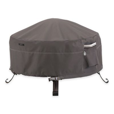Classic Accessories® Ravenna 36-Inch Outdoor Firepit Cover in Taupe