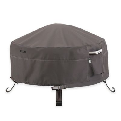 Ravenna 36-Inch Outdoor Firepit Cover in Taupe