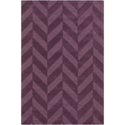 Artistic Weavers Central Park Carrie 2-Foot x 3-Foot Accent Rug in Purple