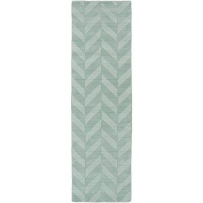 Artistic Weavers Central Park Carrie 2-Foot 3-Inch x 8-Foot Runner in Teal