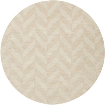 Artistic Weavers Central Park Carrie 6-Foot Round Area Rug in Ivory