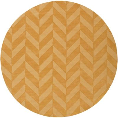 Artistic Weavers Central Park Carrie 9-Foot 9-Inch Round Area Rug in Gold