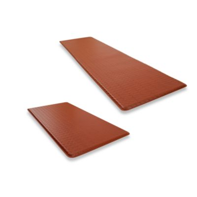 GelPro® Basketweave Chestnut Cushion Mat