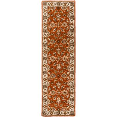Artistic Weavers Middleton Charlotte 2-Foot 3-Inch x 10-Foot Runner in Red/Beige