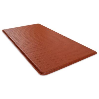GelPro® Basketweave 20-Inch x 36-Inch Cushion Mat in Chestnut