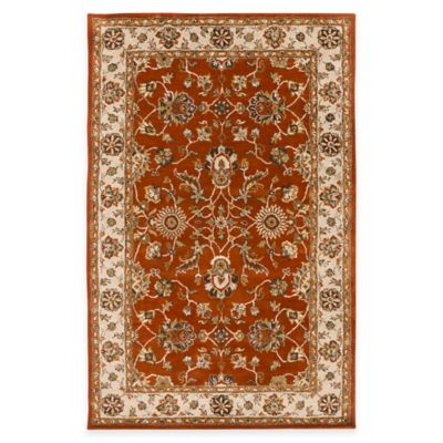 Artistic Weavers Middleton Charlotte 3-Foot x 5-Foot Area Rug in Red/Beige