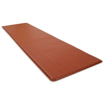 GelPro® Basketweave 20-Inch x 72-Inch Cushion Mat in Chestnut