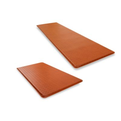 GelPro® Basketweave Cushion Mat in Hazelnut/Brown