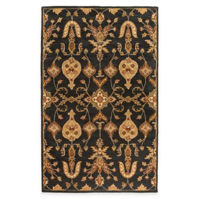 Artistic Weavers Middleton Grace 3-Foot x 5-Foot Area Rug in Black