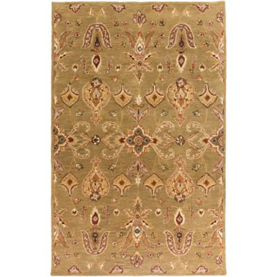 Artistic Weavers Middleton Grace 6-Foot x 9-Foot Area Rug in Green