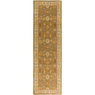 Artistic Weavers Middleton Willow 2-Foot 3-Inch x 10-Foot Runner in Sage/Ivory