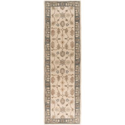 Artistic Weavers Middleton Willow 2-Foot 3-Inch x 10-Foot Runner in Grey/Ivory