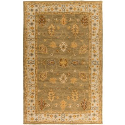 Artistic Weavers Middleton Willow 4-Foot x 6-Foot Area Rug in Sage/Ivory