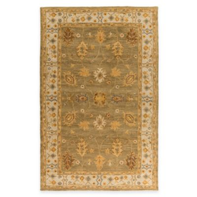 Artistic Weavers Middleton Willow 3-Foot x 5-Foot Area Rug in Grey/Ivory