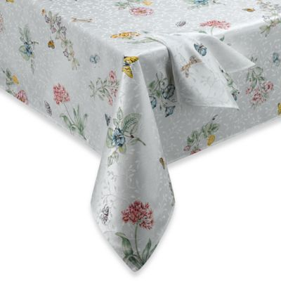 Lenox® Butterfly Meadow® 60-Inch x 120-Inch Tablecloth